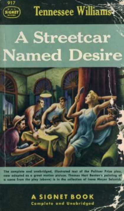 Signet Books - A Streetcar Named Desire - Tennessee Williams