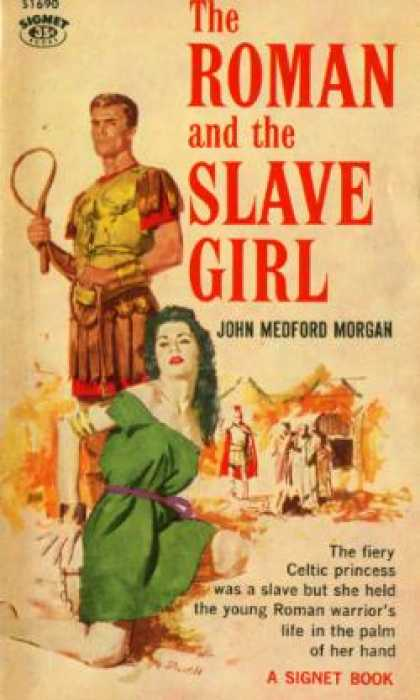 Signet Books - The Roman and the Slave Girl - John Medford Morgan