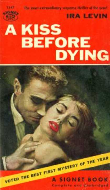 Signet Books - A Kiss Before Dying - Ira Levin