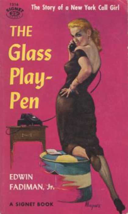 Signet Books - The Glass Play-Pen - Edwin Fadiman, Jr.
