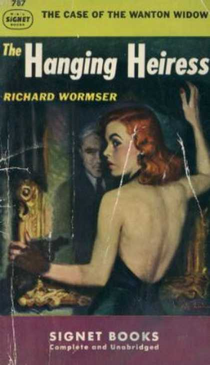 Signet Books - The Hanging Heiress - Richard Wormser