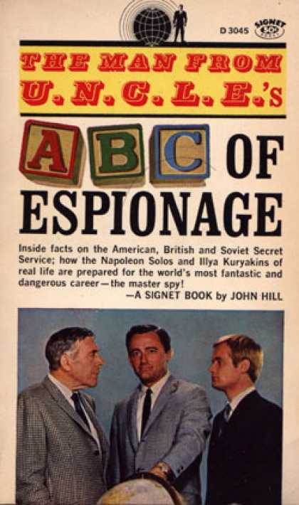 Signet Books - The Man From U.n.c.l.e.'s Abc of Espionage - John Hill
