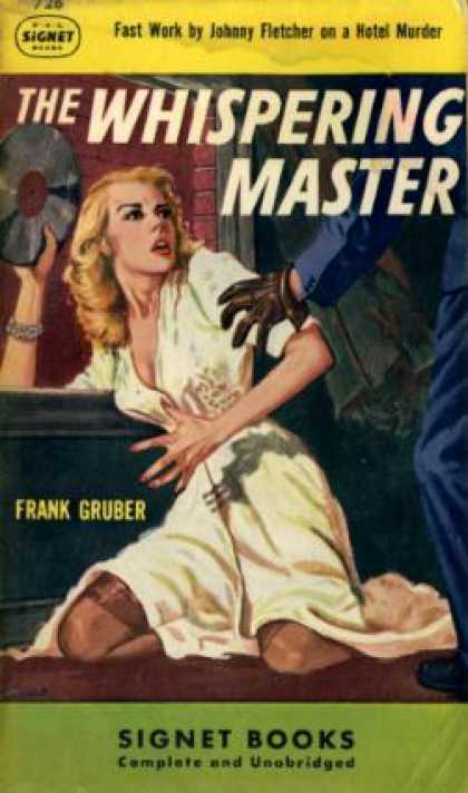 Signet Books - The whispering master - Frank Gruber