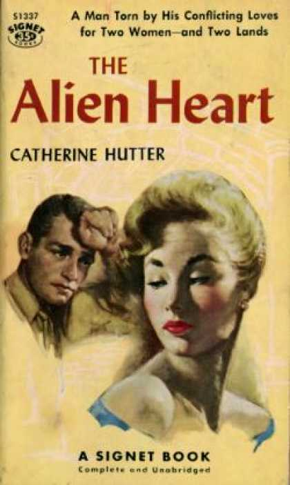 Signet Books - The Alien Heart - Catherine Hutter