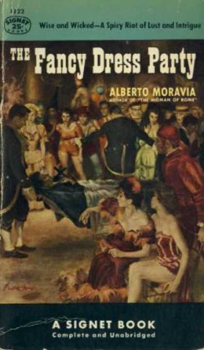 Signet Books - The Fancy Dress Party - Alberto Moravia