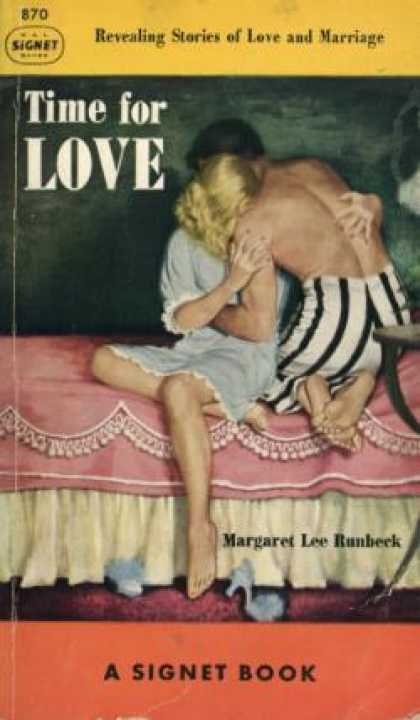 Signet Books - Time for Love - Margaret Lee Runbeck