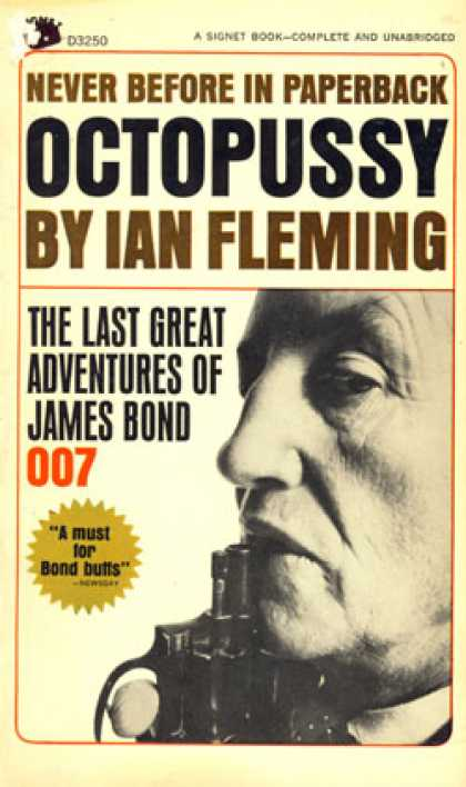 Signet Books - Octopussy - Ian Fleming