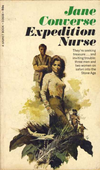 Signet Books - Expedition Nurse - Jane Converse