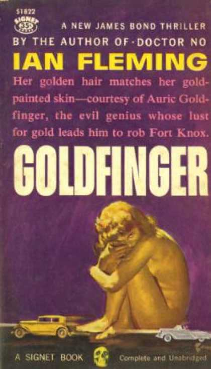 Signet Books - Goldfinger - Ian Fleming
