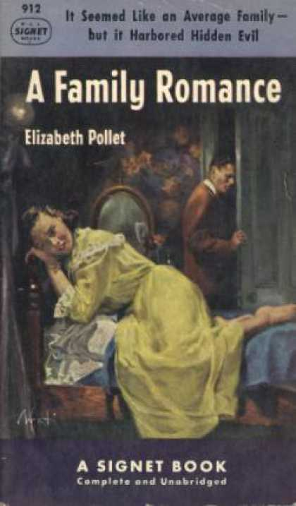 Signet Books - A Family Romance - Elizabeth, Illustrated By Avati, James Pollet