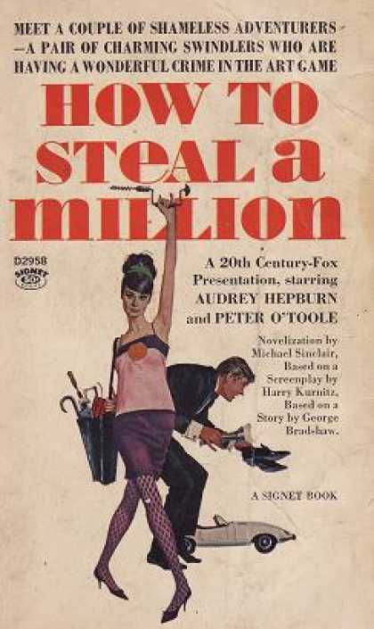 Signet Books - How To Steal a Million