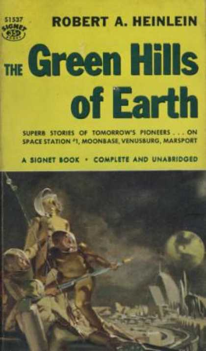 Signet Books - Green Hills of Earth - Robert A. Heinlein