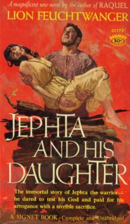 Signet Books - Jeptha and His Daughter - Lion Feuchtwanger