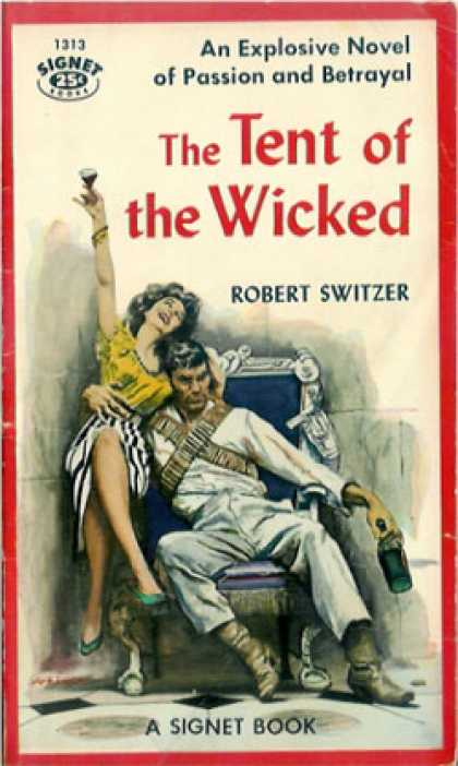 Signet Books - The Tent of the Wicked - Robert Switzer