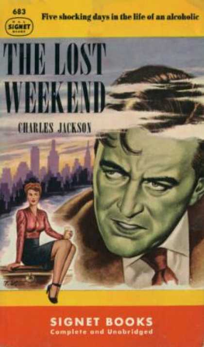 Signet Books - The Lost Weekend - Charles Jackson