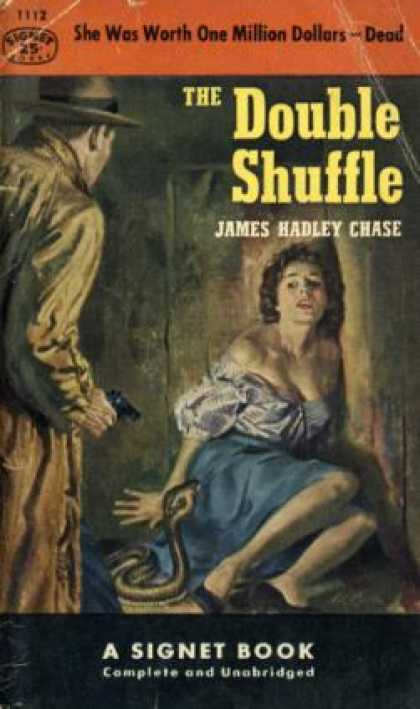 Signet Books - Double Shuffle - James Hadley Chase