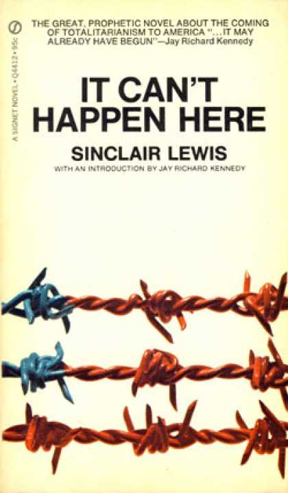 Signet Books - It Can't Happen Here