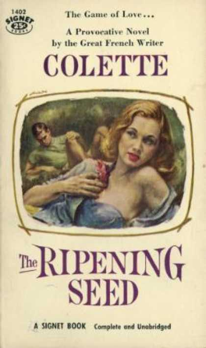 Signet Books - The Ripening Seed - Colette