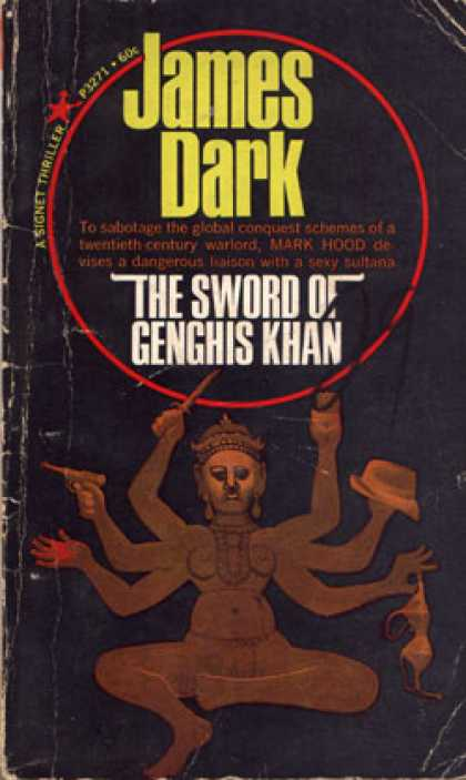 Signet Books - The Sword of Genghis Khan
