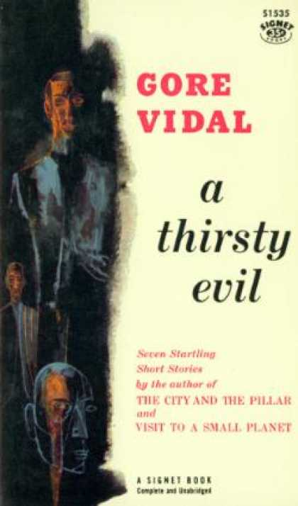Signet Books - A Thirsty Evil - Gore Vidal