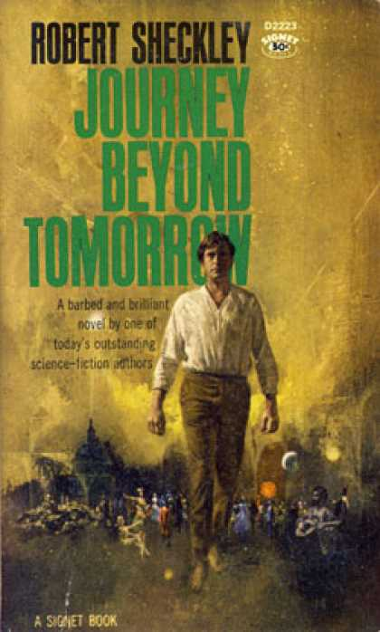 Signet Books - Journey Beyond Tomorrow Signed D2223 - Robert Sheckley