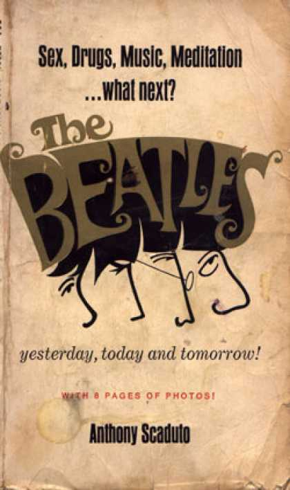 Signet Books - The Beatles: Yesterday, Today, and Tomorrow - Anthony Scaduto