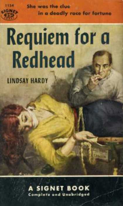 Signet Books - Requiem for a Redhead - Lindsay Hardy