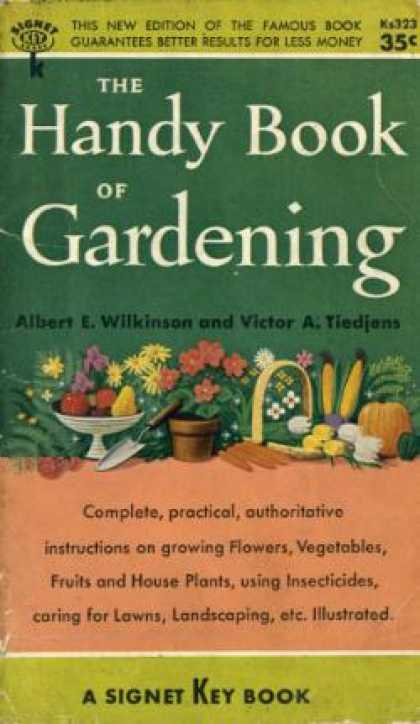 Signet Books - The Handy Book of Gardening