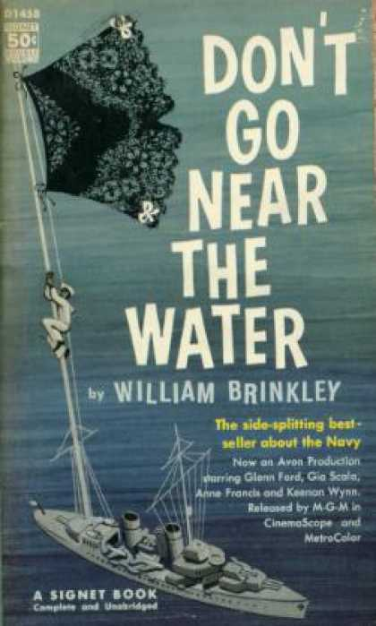 Signet Books - Don't Go Near the Water