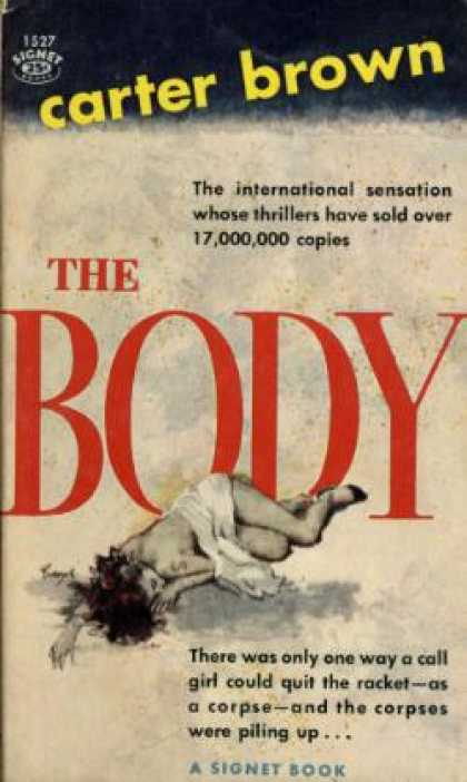 Signet Books - The Body - Carter Brown