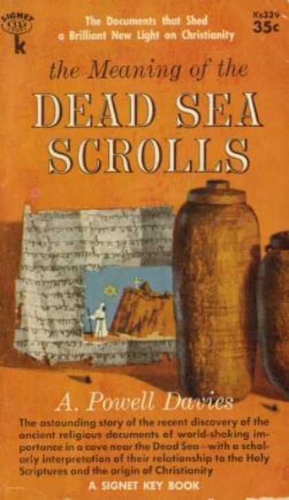 Signet Books - The Meaning of the Dead Sea Scrolls
