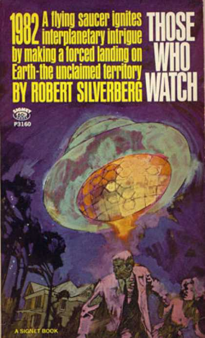 Signet Books - Those Who Watch - Robert Silverberg