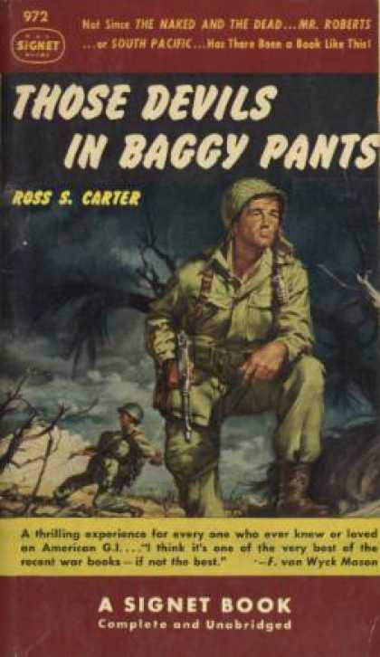 Signet Books - Those Devils in Baggy Pants - Ross S. Carter