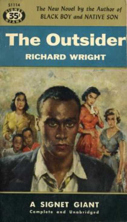 Signet Books - The Outsider - Richard Wright
