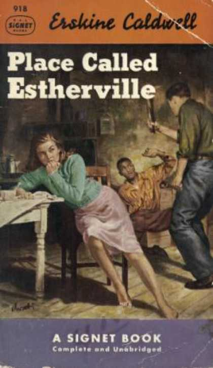 Signet Books - Place Called Estherville - Erskine Caldwell