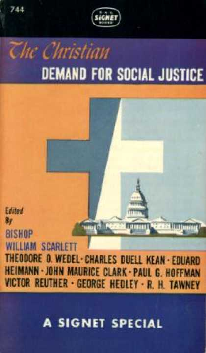 Signet Books - The Christian Demand for Social Justice - William Scarlett