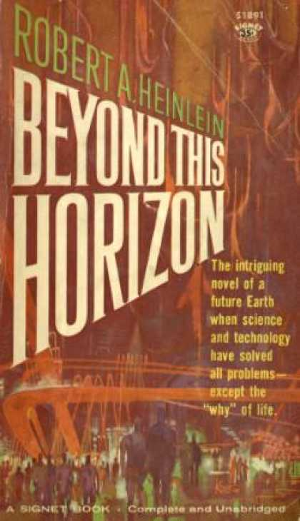 Signet Books - Beyond This Horizon - Robert A. Heinlein