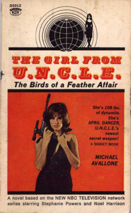 Signet Books - The Birds of a Feather Affair - Michael Avallone