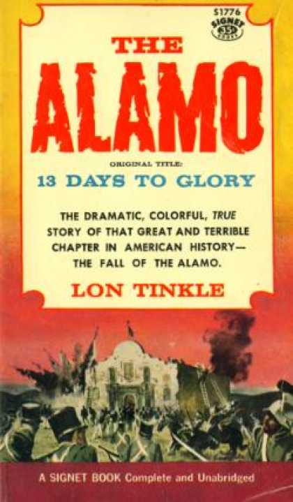 Signet Books - The Alamo - Lon Tinkle