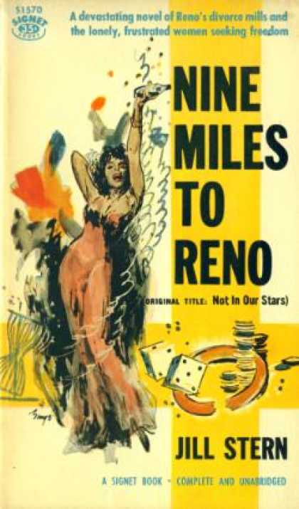 Signet Books - Nine Miles To Reno - Jill Stern
