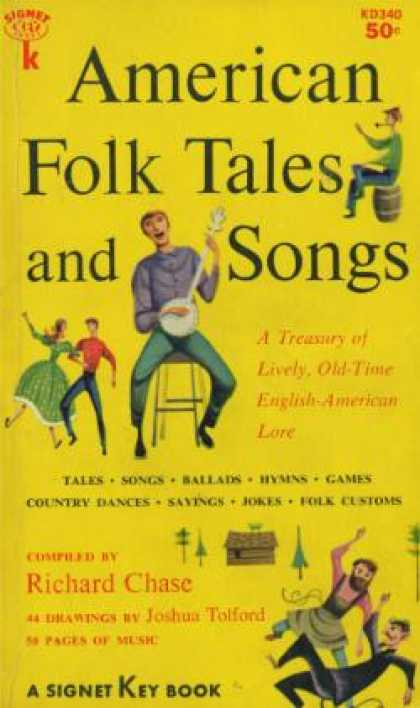 Signet Books - American Folk Tales and Songs - Richard Chase