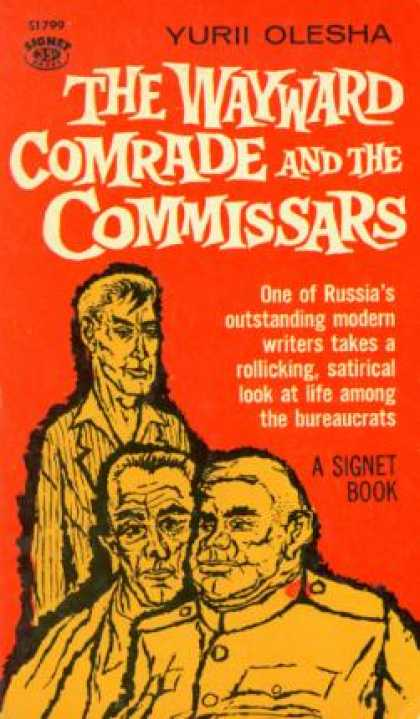 Signet Books - The Wayward Comrade and the Commissars