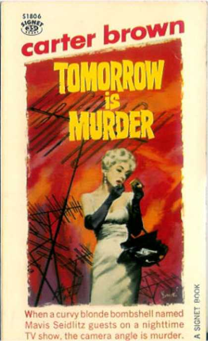 Signet Books - Tomorrow Is Murder - Carter Brown