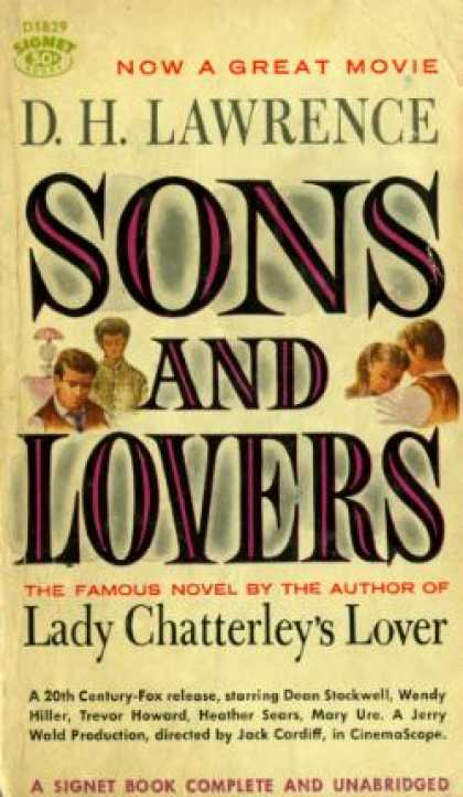 Signet Books - Sons and Lovers - D.h. Lawrence
