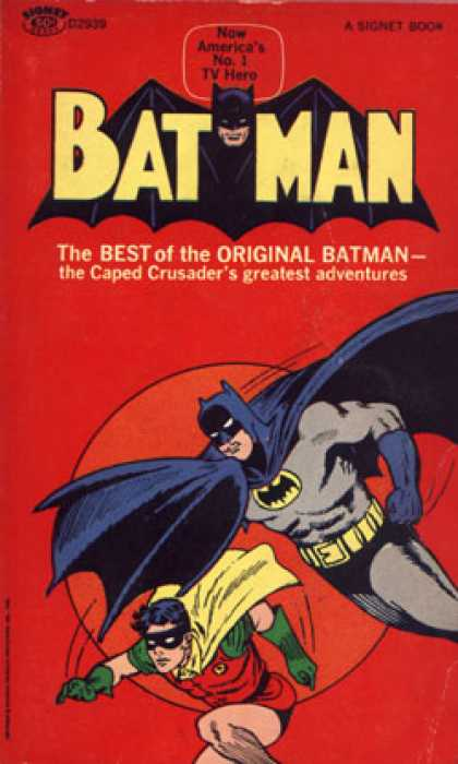 Signet Books - Bat Man