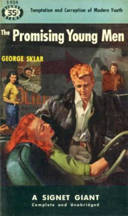 Signet Books - The Promising Young Men - George Sklar