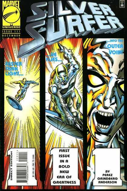Silver Surfer (1987) 111 - Marvel Comics - 1995 - Super Heros - Surfer - First Issue