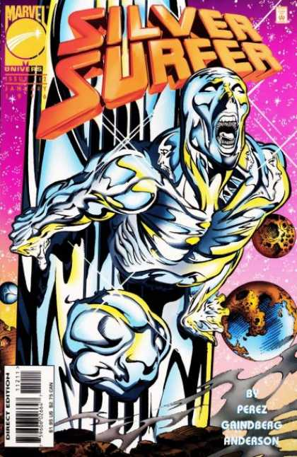 Silver Surfer (1987) 112 - Marvel Universe - Perez - Gaindberg - Anderson - Planets
