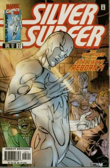 Silver Surfer (1987) 127 - Herald - Galactus - Clone - Scientist - Double - Ron Garney