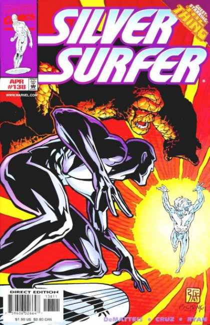 Silver Surfer (1987) 138 - The Thing - Ben - Enemy - Alliance - Villain - Bernard Chang